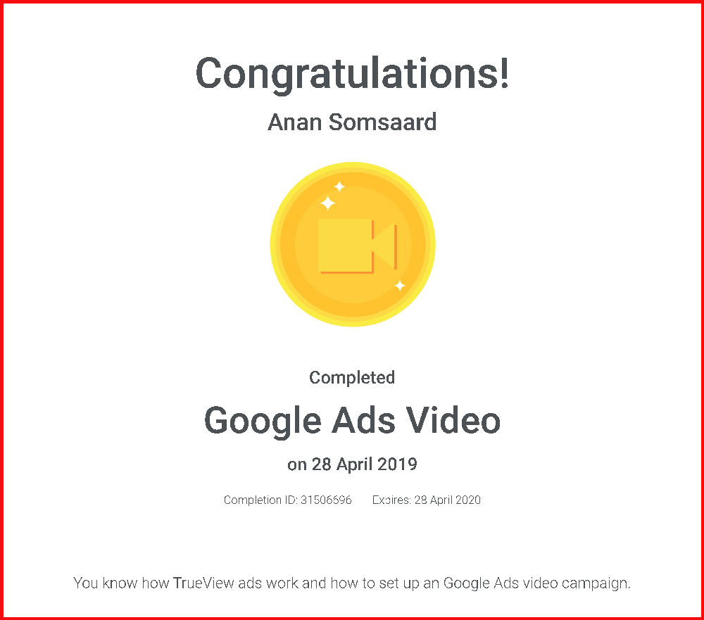 Google-Ads-Video-Certification